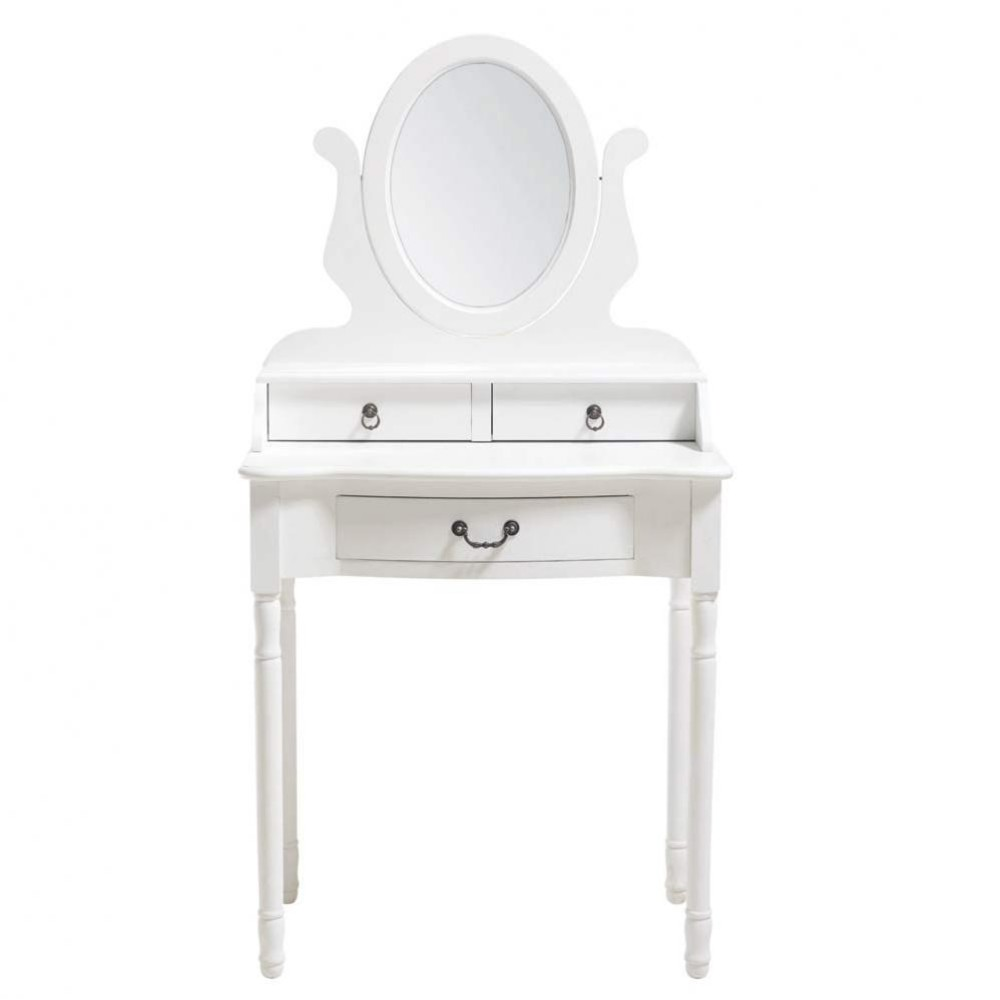 La Maison Du Dressing coiffeuse blanche | coiffeuse | shabby chic dressing table