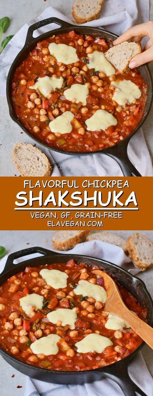Easy Shakshuka Recipe (Vegan, Healthy) Easy Shakshuka Recipe (Vegan, Healthy),