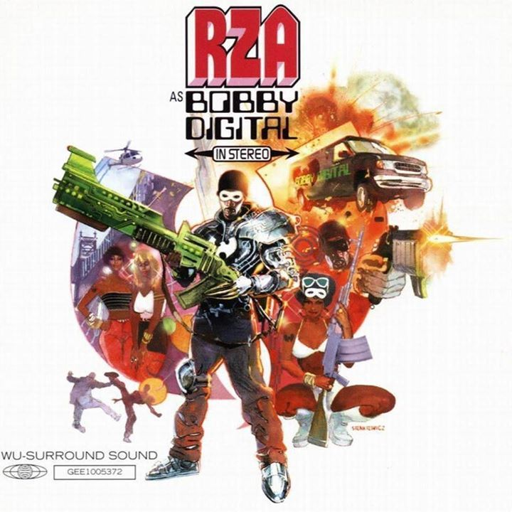 Rza As Bobby Digital Album Cover Vinyl Hip Hop