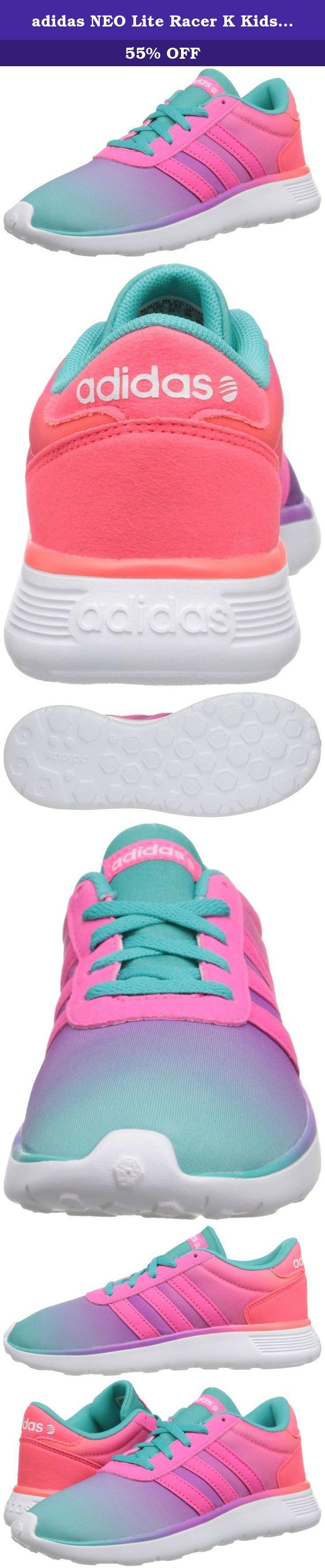 adidas NEO Lite Racer K Kids' Running Shoe (Little KidBig