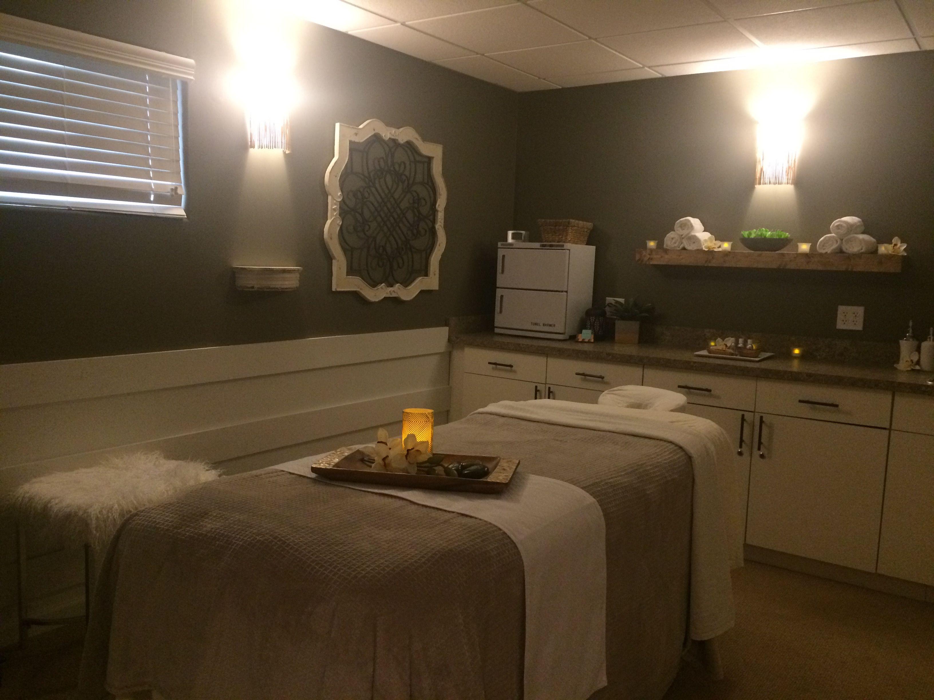 Avanti Salon And Spa Of Clarkston Mi Massage Room Renovation By Gigilinninteriors Massage Room Decor Massage Room Design Massage Room