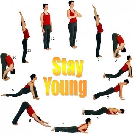 yoga poses to stay young  easy yoga workouts exercise