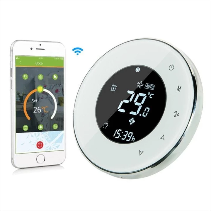 Digital Wifi Smart Thermostat  With Images