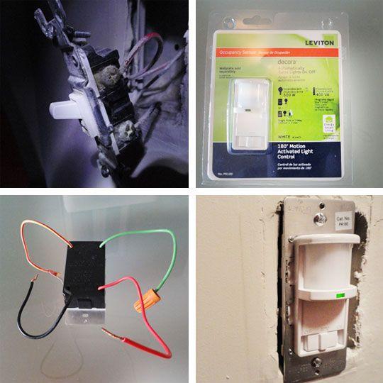 How To Install Closet Motion Sensor Lights Motion Sensor Lights