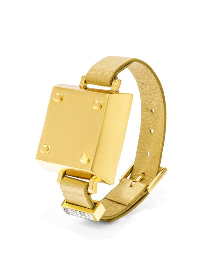 Pin for Later: BaubleBar Turns Your Jawbone Up Into the Ultimate Statement Piece  Tango bracelet ($55) in gold