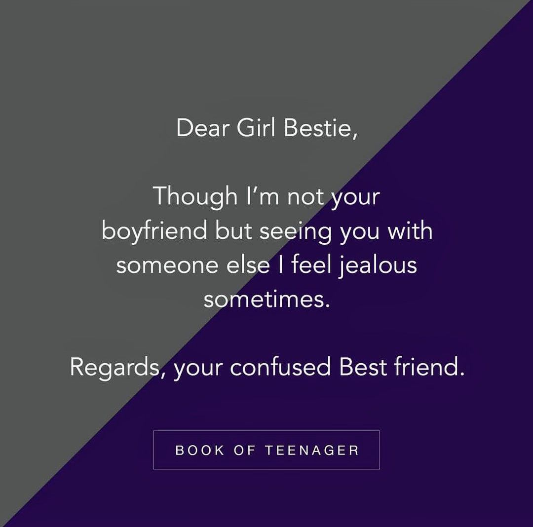 True I Really With Yash Sandhya Jealous Quotes Teenager Quotes About Life Best Friendship Quotes