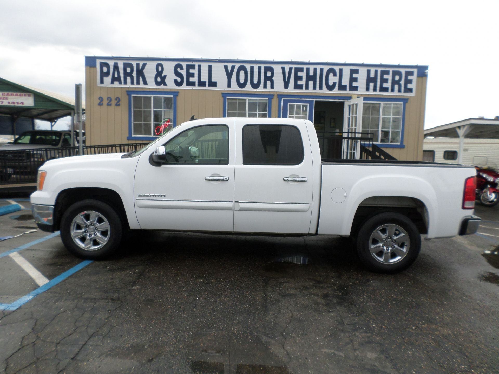 Truck For Sale 2013 Gmc Sierra 1500 Sle Crew Cab 4x4 Short Bed In