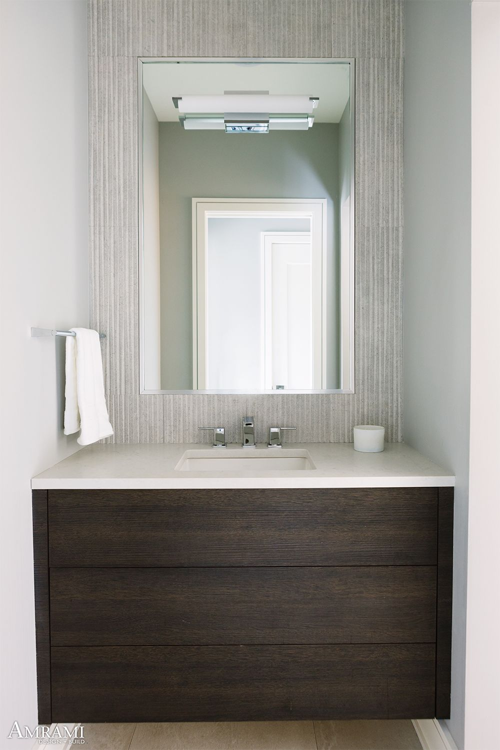 These Bathroom Vanities Feature The Push Latch Drawers Which Bring Both A Luxurious Feel And An In 2020 With Images Wood Bathroom Vanity Custom Bathroom Designs Dark Wood Bathroom