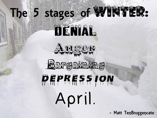 April :) | funny | Cold weather funny, Winter quotes ...