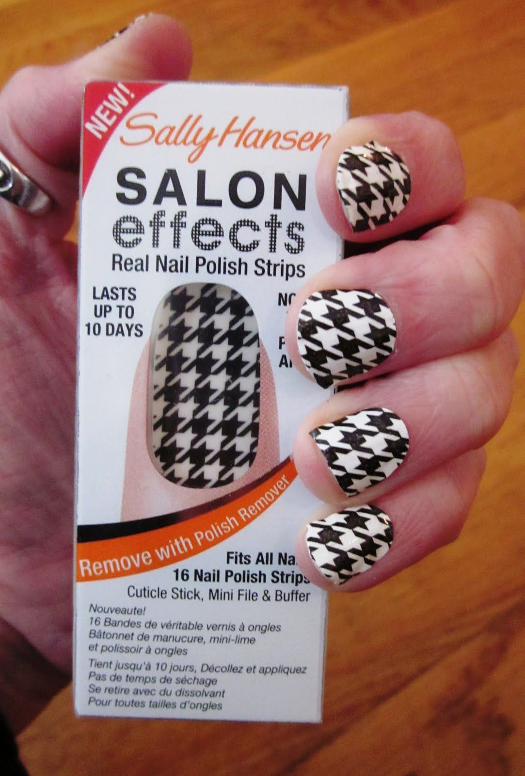 Sally Hansen Houndstooth Nail stickers | Nail Art | Pinterest ...