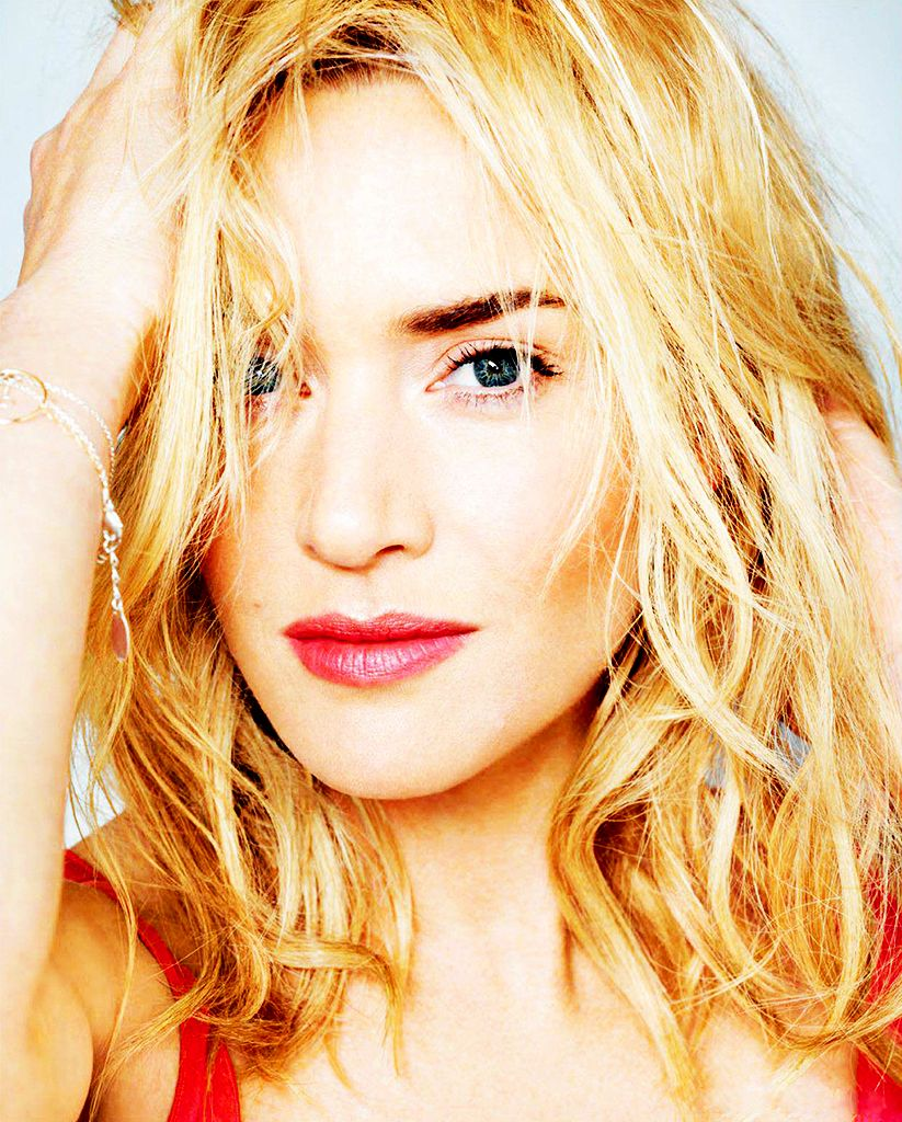 Kate Winslet...I will always love her. No pun intended.