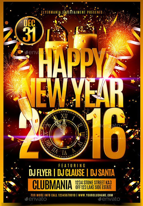 Happy-New-Year-2016-Flyer-Template-PSD-Format.jpg (585×843 ...