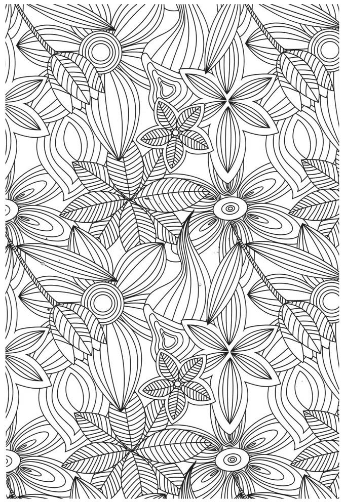 coloriage anti stress à imprimer pinterest