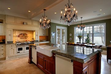 Ardmore Hall - traditional - kitchen - other metro - Mike Knight Construction