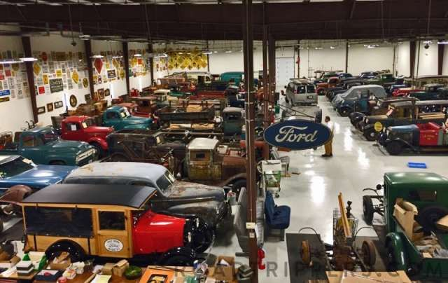 This Ford museum on Route 66 looks amazing. Beller Museum, 275 Rocbaar Drive, Romeoville, IL.