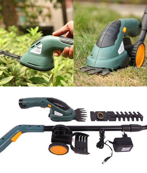 Easydo German K Mark Certificate Breathable Bicycle: East 3.6V 2 In 1 Electric Cordless Grass Shear Hedge