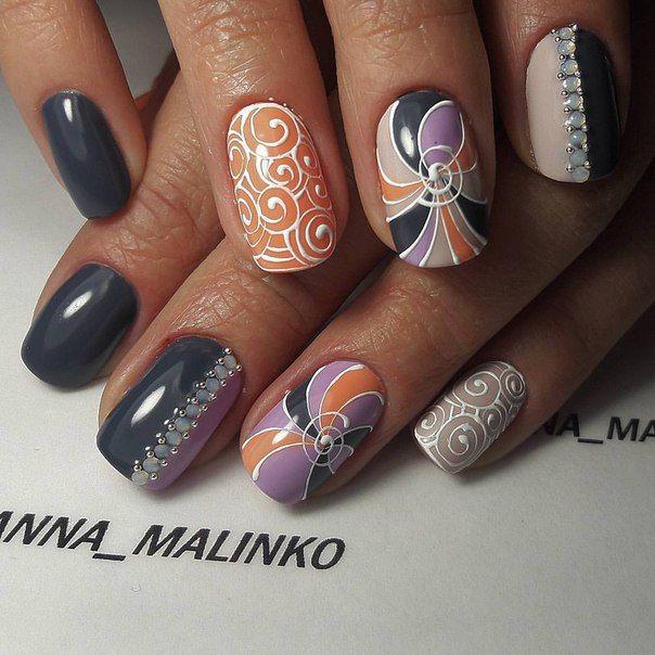 70Анна малинко дизайн ногтей