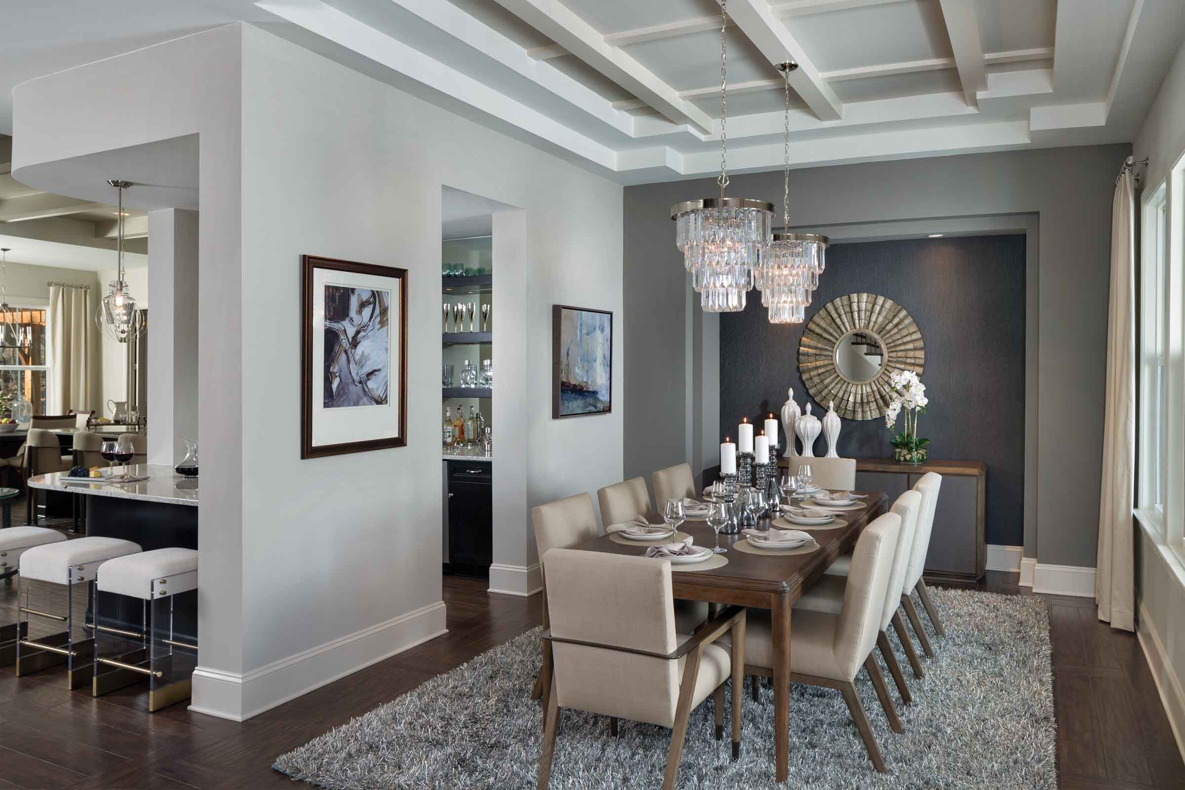 Westfield 1559 Comfort Meets Luxury In Belle Grove Traditional Dining Rooms Dining Room Images Dining Room Design