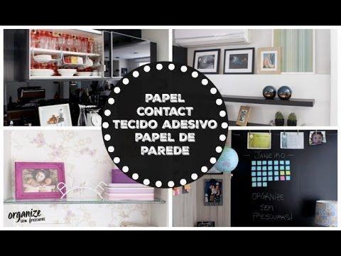 Organize sem Frescuras | Rafaela Oliveira » Arquivos » Minha casa decorada com Papel Contact,