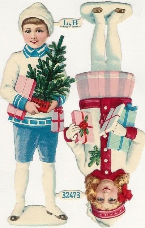 Elfos & Books - Kerstpoesieplaatjes