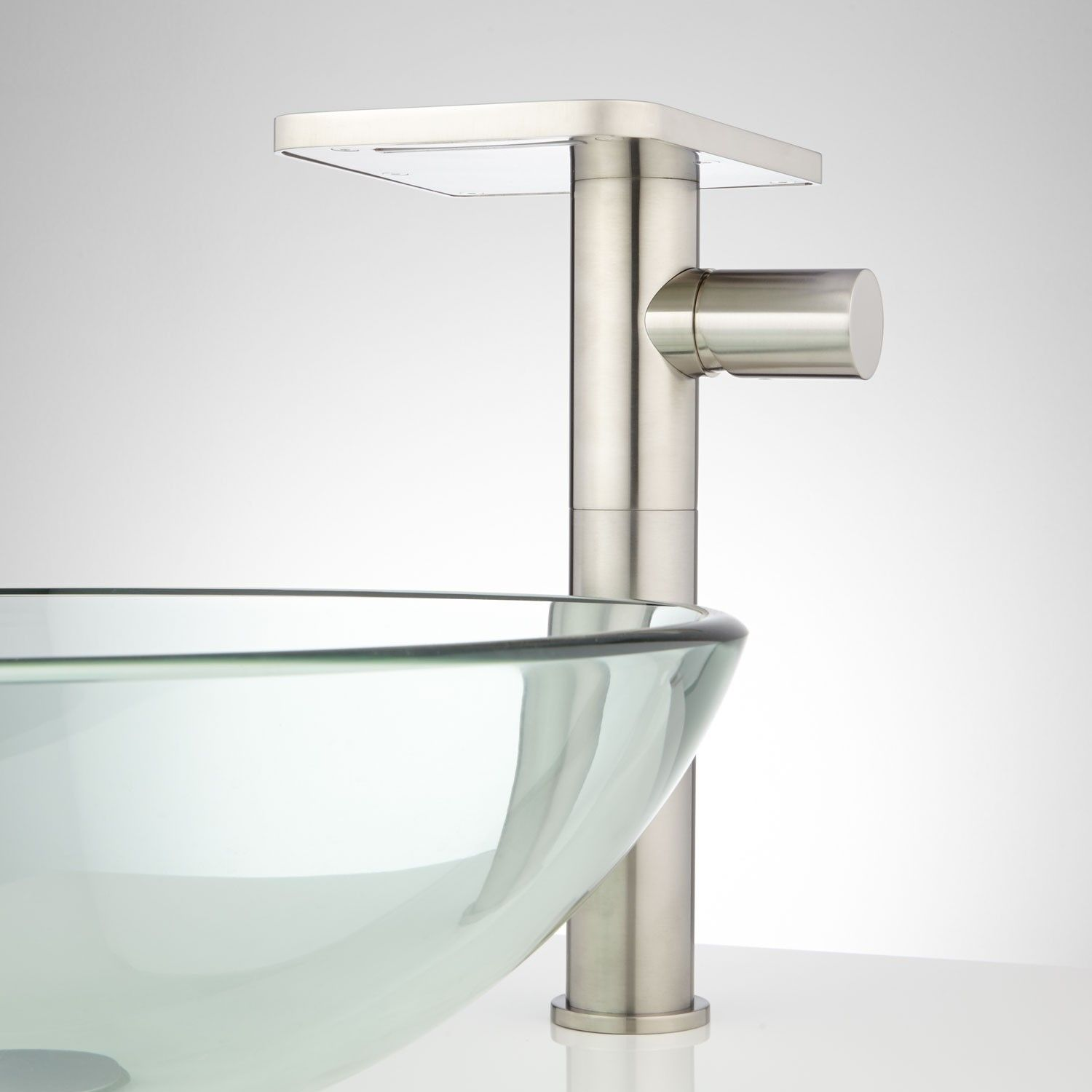 Knox Waterfall Vessel Faucet with Pop-Up Drain | Vessel faucets ...