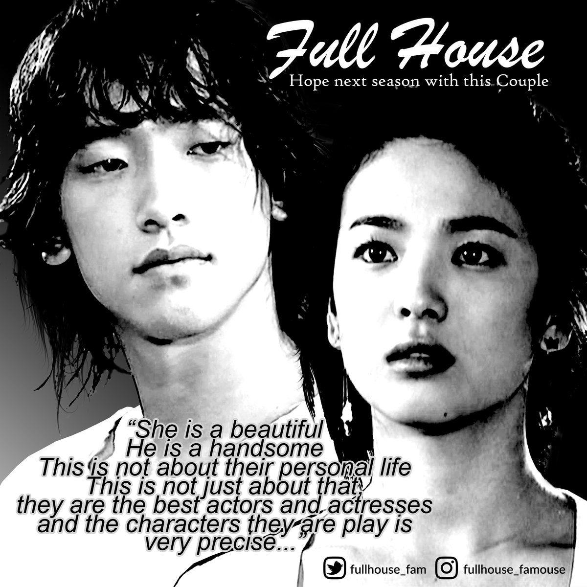 Flullhouse Famouse On Twitter Korean Celebrity Couples Full House Celebrity Couples