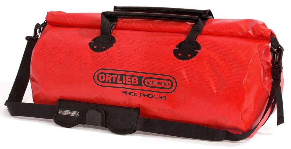 61.50 € - Bolsa de viaje Ortlieb Rack Pack roja - 49 Litros.