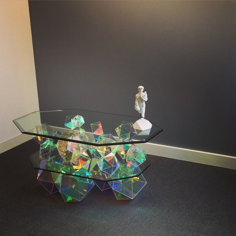 Image of Chill and blaze sparkle table