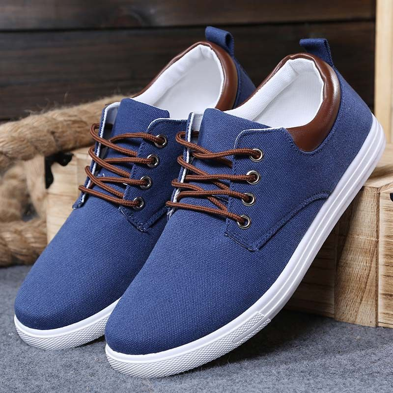 Shoes 2015 · Find More Men's Fashion Sneakers Information about Hot sale  fashion Knitting Canvas breathable casual sport men