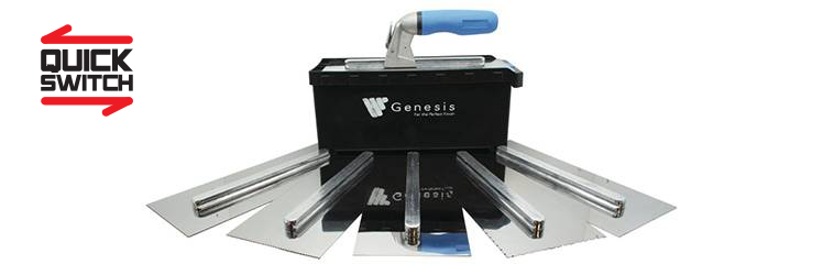 In Stock Now We Have The New Stainless Steel Flooring Trowel Box Set Comes Complete With 6 Blades An Interchangeable Handle A Safety Floor Flooring Cleaning
