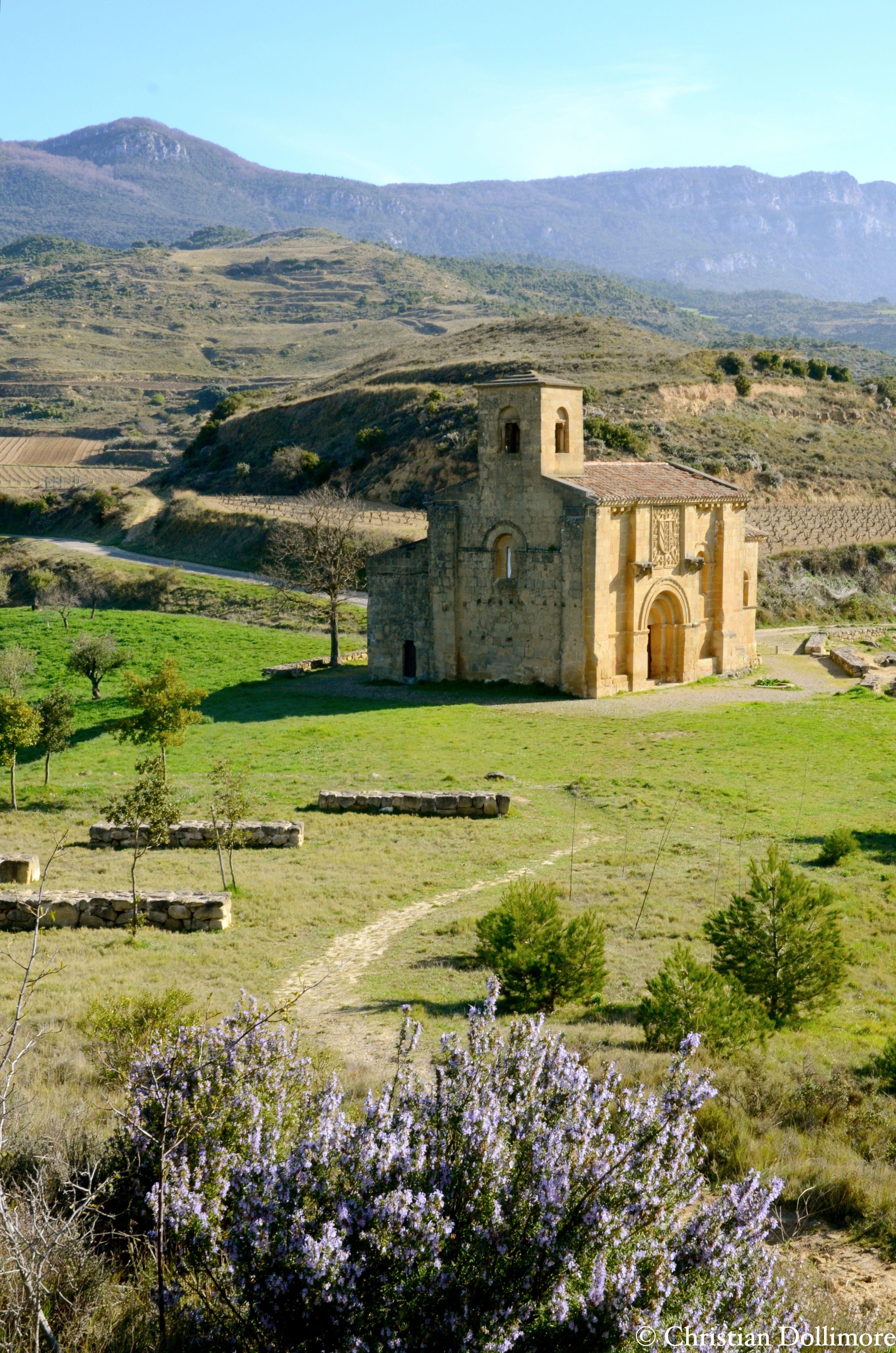Church Of Santa María De La Piscina The Only Remaining Building Of A Long Abandoned Village In The Countryside Of La R Abandoned Village La Rioja Countryside