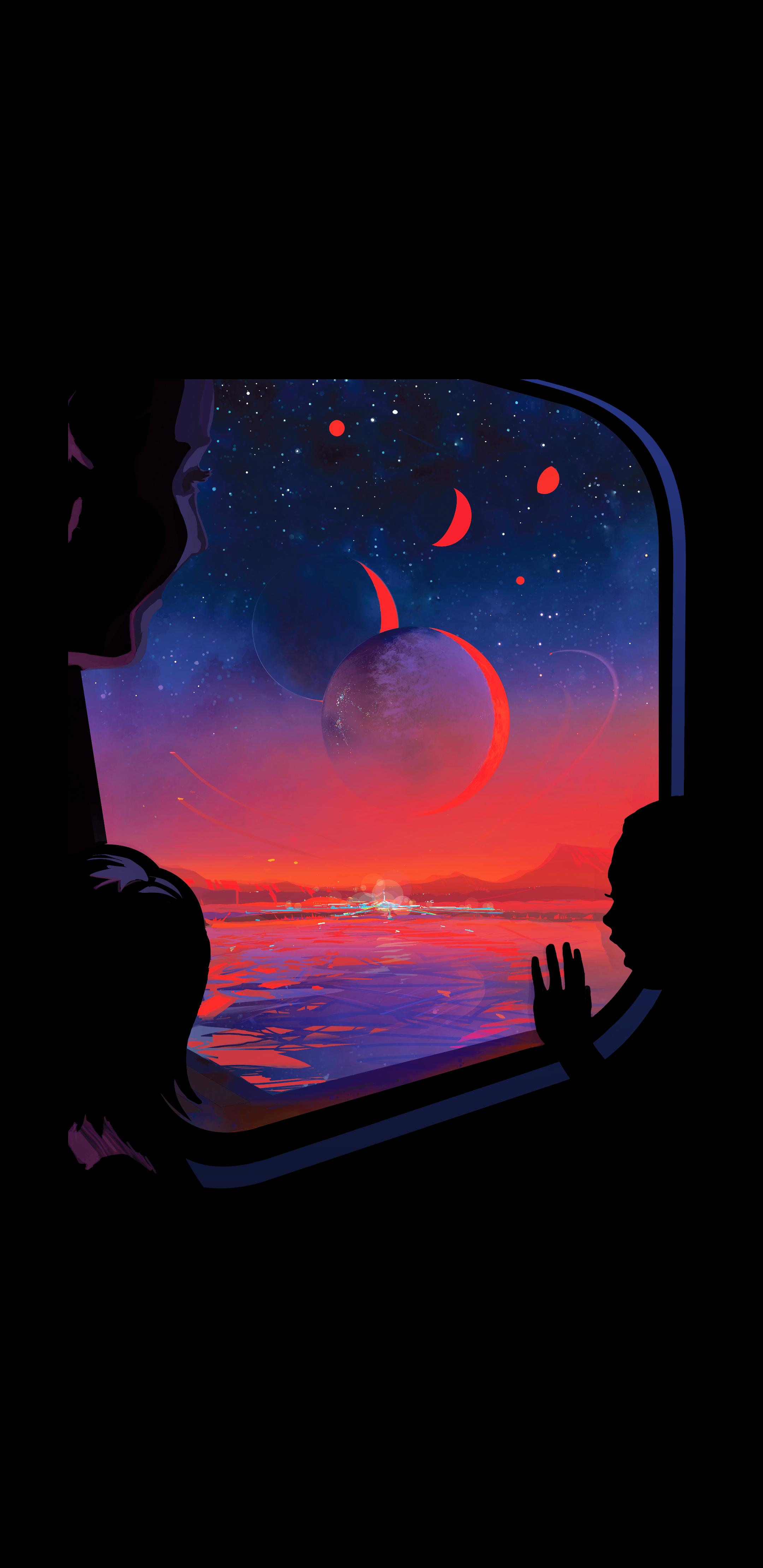 Trappist 1e Nasa Poster 2160x4440 Imgur Cool Backgrounds For Iphone Samsung Galaxy Wallpaper Nasa Wallpaper