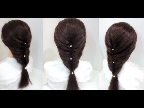Easy Hairstyles For Medium Hair Gorgeous Easy Mermaid Braid Hairstyles For Medium Hair  Youtube  Hair