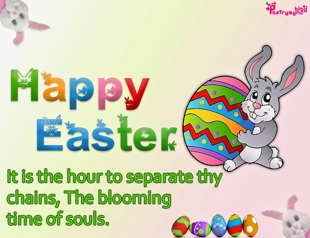 Happy Easter Sunday SMS Messages Pictures Easter – Easter Greeting Card Sayings