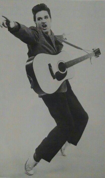Kurt Russell as Elvis in 1979-1