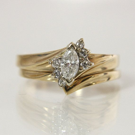 Reserved Listing Vintage Marquise Diamond Engagement Ring Etsy Engagement Rings Marquise Marquise Diamond Engagement Ring Wedding Rings Vintage