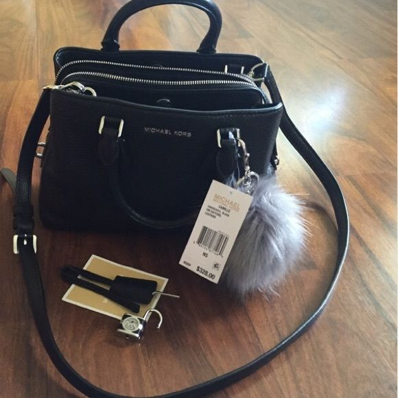 Michael kors Camille small leather bag | Michael kors camille ...