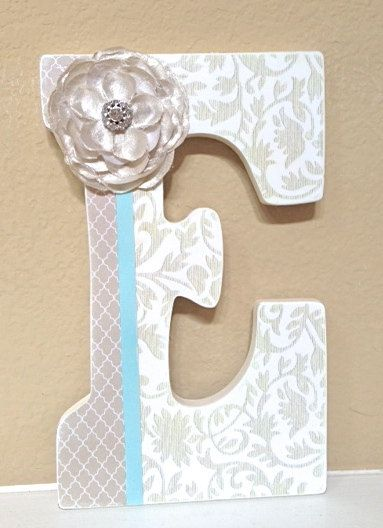 Custom Nursery Letters Baby Decor Personalized Name Wooden Hanging Wall The Rugged Pearl