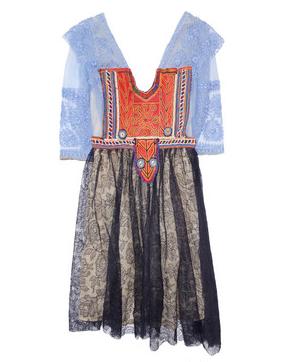 one vintage lace dress