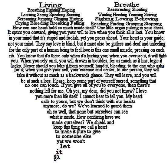 Heart, A Shape Poem by xxcrashgirlxx.deviantart.com on @deviantART ...