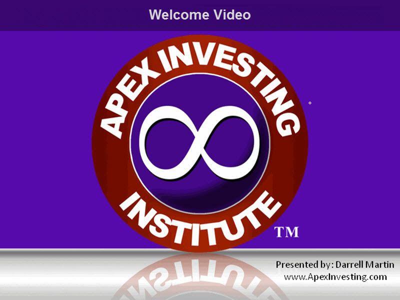 Apex investing institute