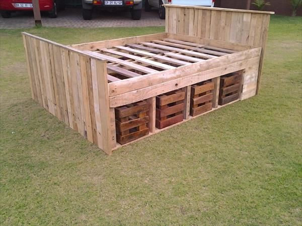 Pallet Bed Frame Diy Bing Images Projects To Try