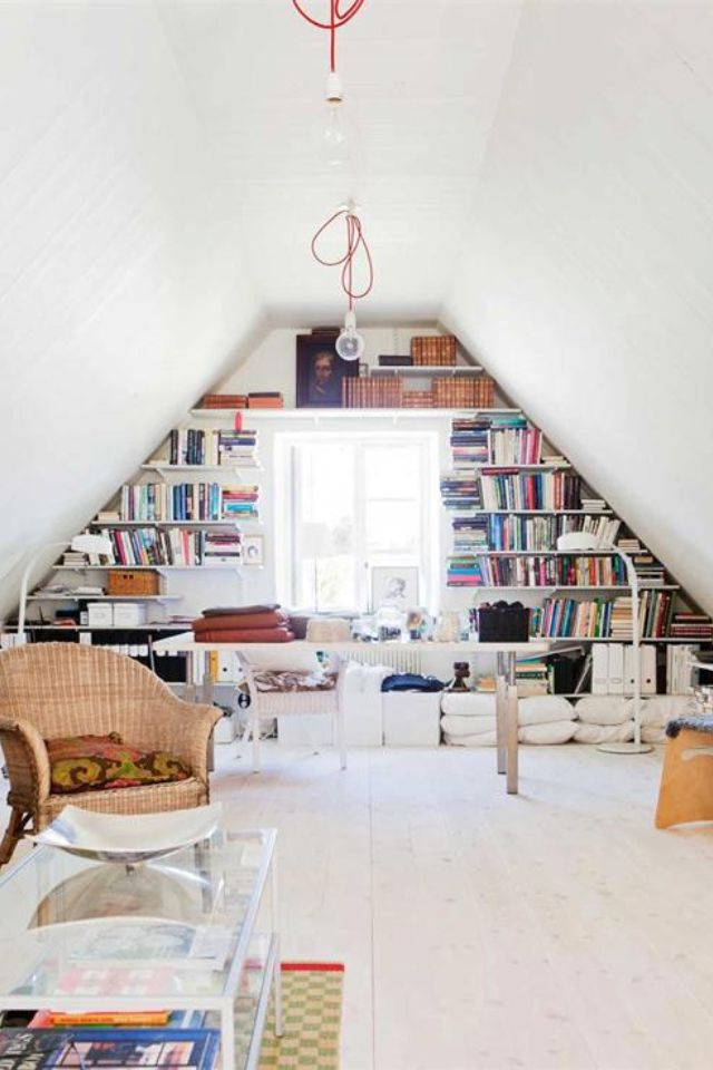 Attic Space Home Office Design Attic Rooms Attic Remodel