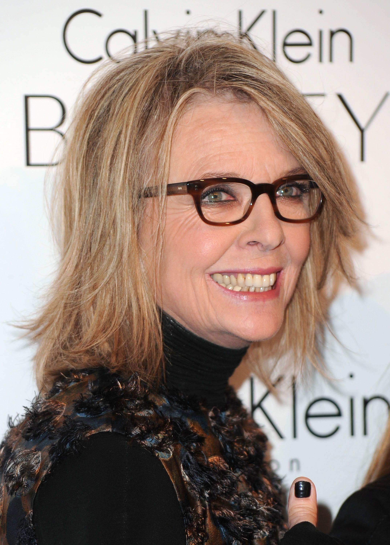 Diane Keaton | Acconciature capelli sottili, Occhiali da ...
