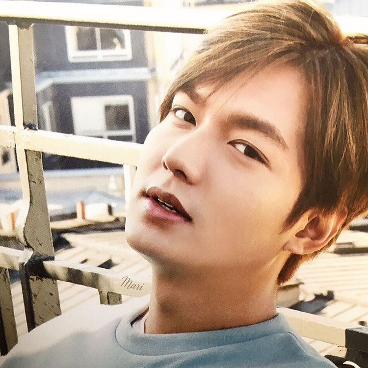 Good morning❤️Have a blessed day❤️ @actorLeeMinHo
