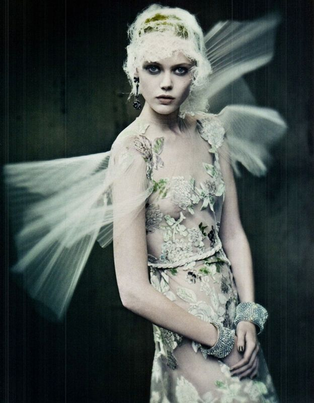 Frida Gustavsson in Vogue Italia September 2011 by Paolo Roversi