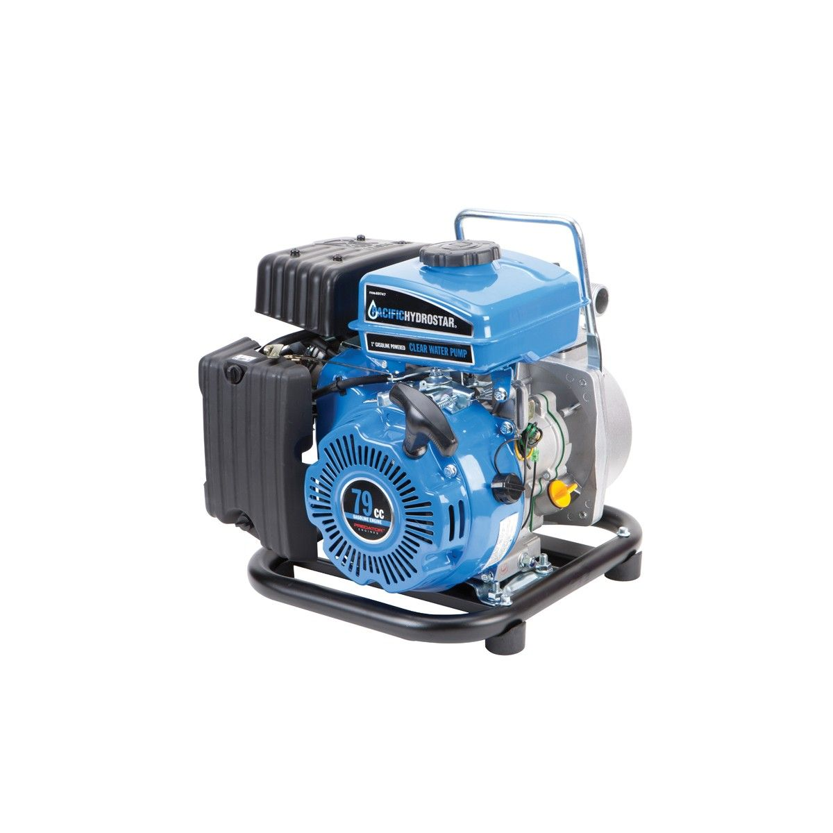 1 In Clear Water Pump With 79cc Ohv Gas Engine Water Pumps Clear Water Trash Pump