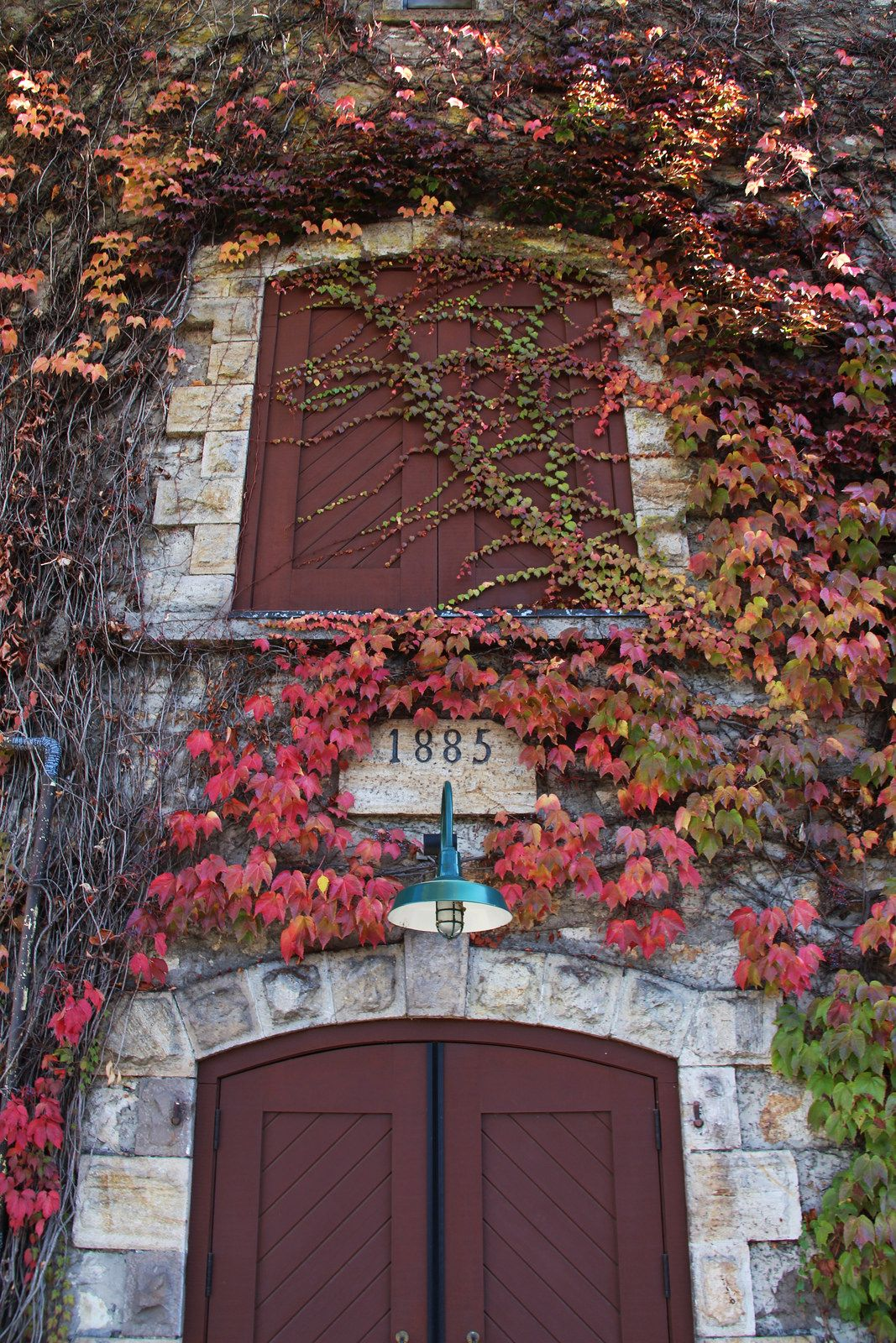 ~ Doors and Vines ~ BV Winery Building in Rutherford, California   by trail trekker