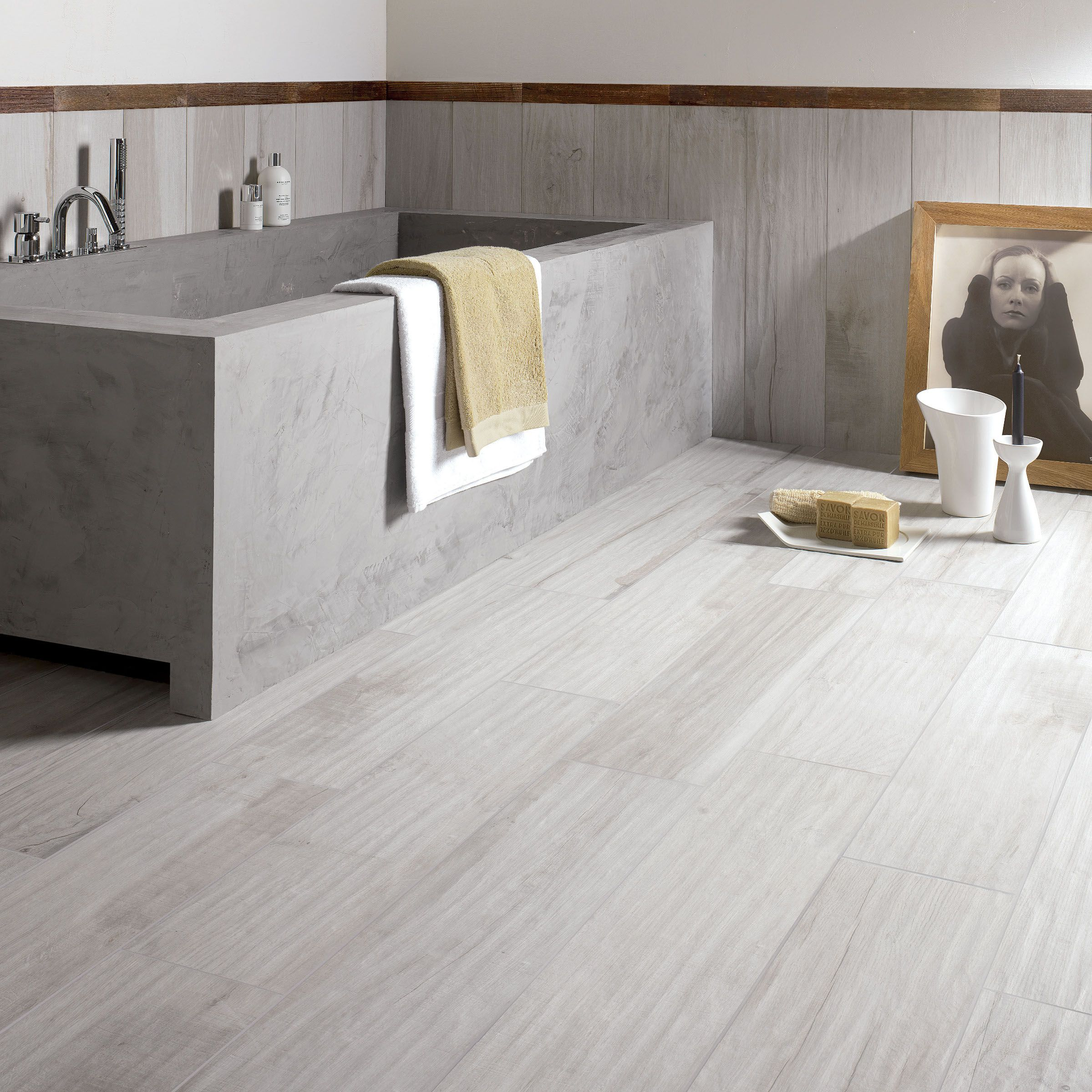 Wall floor tiles with wood effect soleras by abk industrie for Pavimenti 3d prezzi