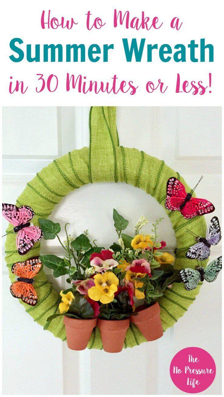 Photo of 33 beautiful summer wreath ideas to bring sunshine to your door – furnishing ideas